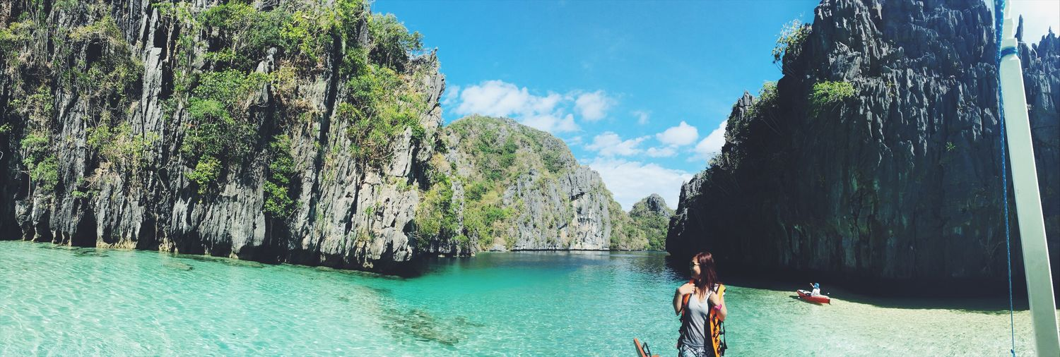 The beauti of El Nido. Nature Beauty In Nature Outdoors Scenics First Eyeem Photo