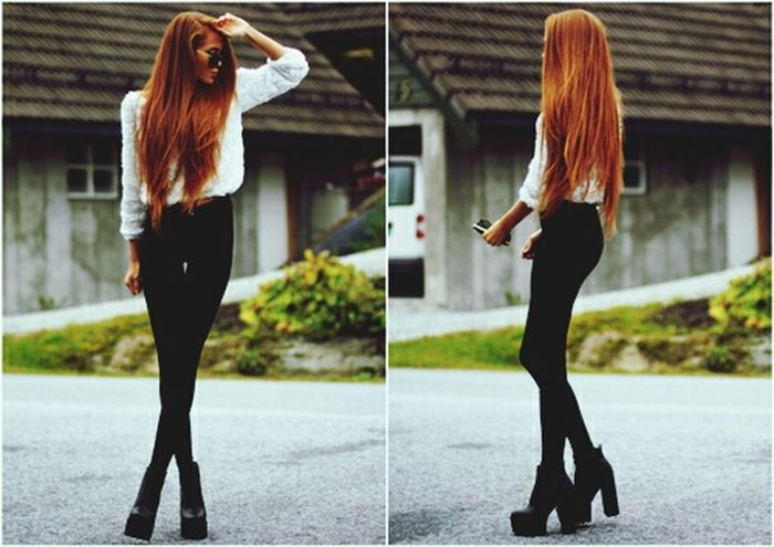 Fashion Girl Look Summer