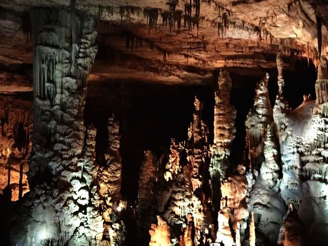 Cathedral Caverns Alabama Rock Formation Stalactite  Cave No People Geology Beauty In Nature Physical Geography