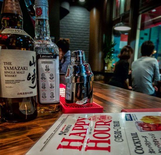 Happy Hour Japan Restaurant Bottle People Panasonicgx7 Happyhour Still Life Reflection Hello World Cooljapan