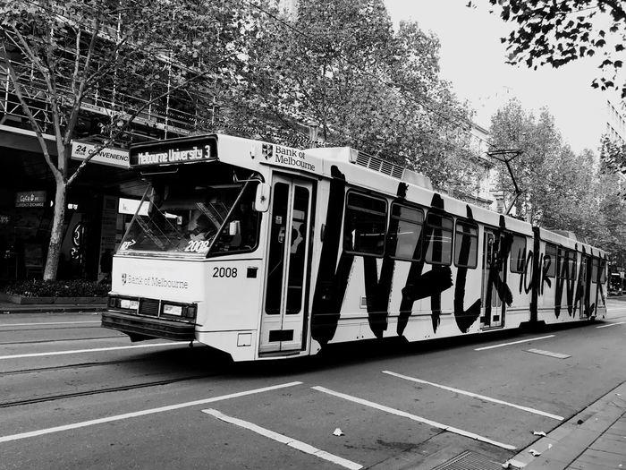 IPhone7Plus Transportation Public Transportation Mode Of Transport Tram Travel Australia Melbourne