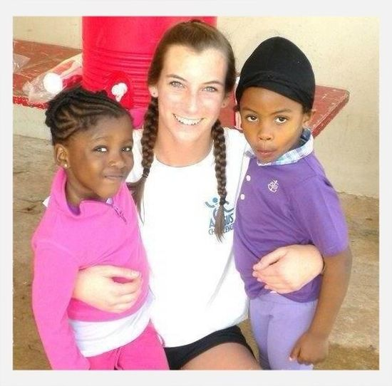Favorite jump rope memories- Working with these two beautiful girls