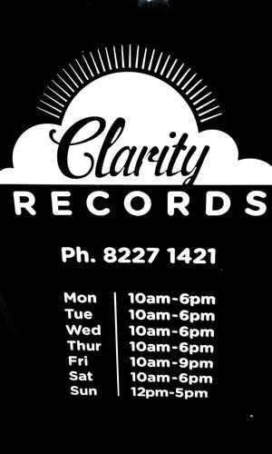 Record Stores RecordStores AlphaNumeric Western Script Black And White SIGNS: No People! No People Blackandwhite Signs WesternScript Open 7 Days A Week Alphabetical & Numerical Notices Clarity Records Sign Signstalkers Signporn Signs & More Signs Signs, Signs, & More Signs Signs_collection Signage SignsSignsAndMoreSigns SignSignEverywhereASign Clarity Records Record Store Recordstore SIGN. Text