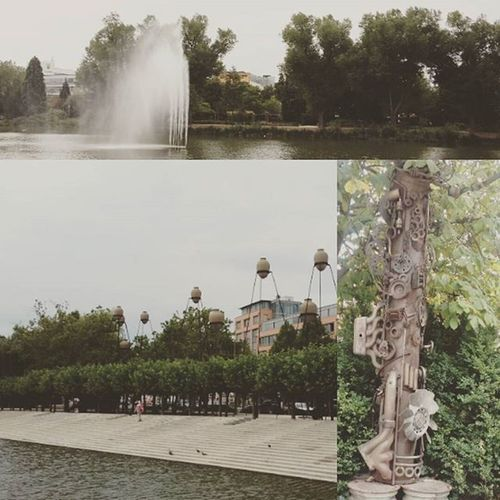 Un arrêt à Böblingen Deutschland Allemagne Germany Water_collection Art Lovers..❤