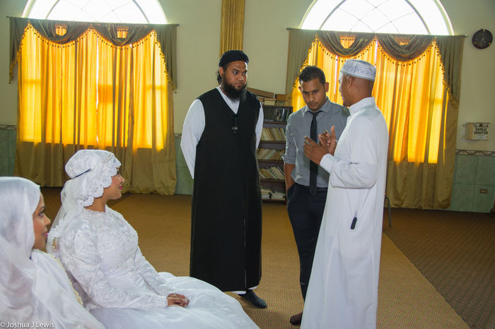 Bride Religion Celebration Life Events Muslimwedding Caribbean Architecture Trinidad And Tobago Ceremony Traditional Clothing Stillife Wedding Ceremony