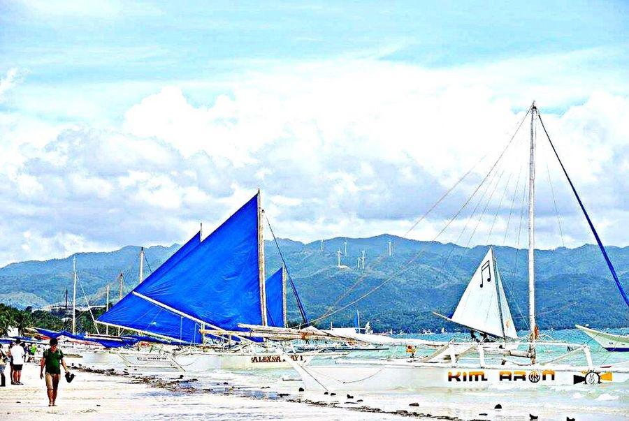 Boracay Philippines Boracay Sea Vlada Vacations Beach Blue