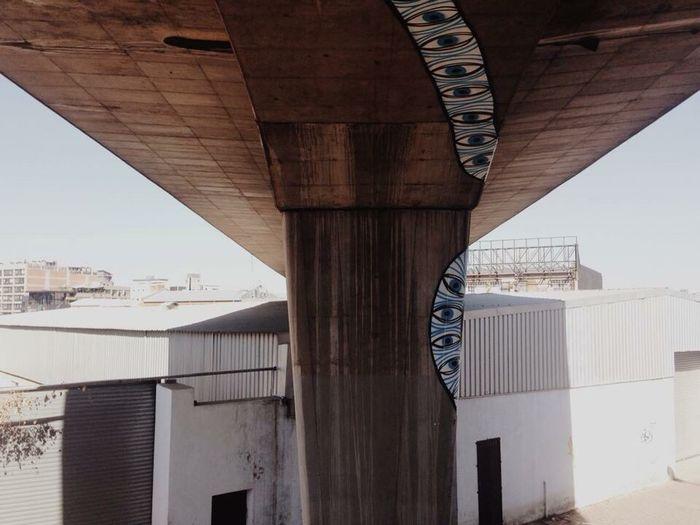 Johannesburg, 2014 Johannesburg South Africa Bridge Under The Bridge Streetart Streetart/graffiti Streetartphotography Superblast Maboneng Precinct Maboneng