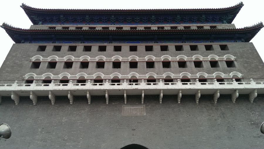 Chinese Architecture City Gate Beijing