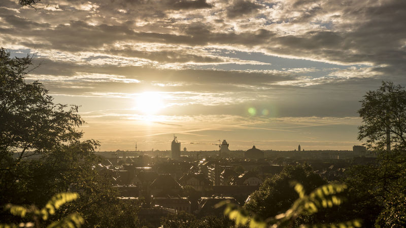 Cityscapes Dramatic Sky Fockeberg Leipzig Leipzigcity Outdoors Sky Sunset City_collection Nature_collection Sun_collection