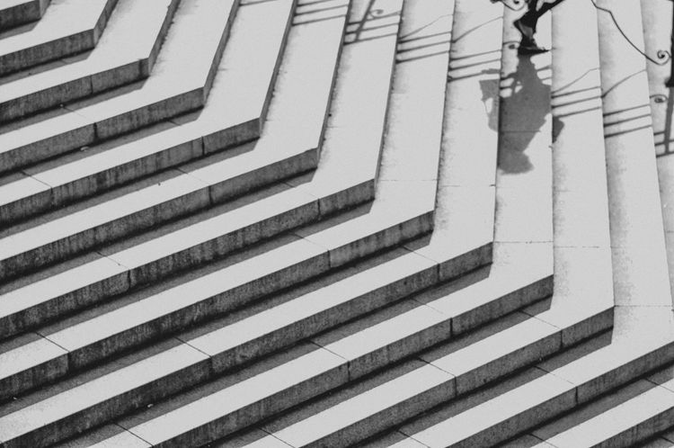 Architecture High Angle View Outdoors Pattern Shadow Staircase Stairs Steps Steps And Staircases