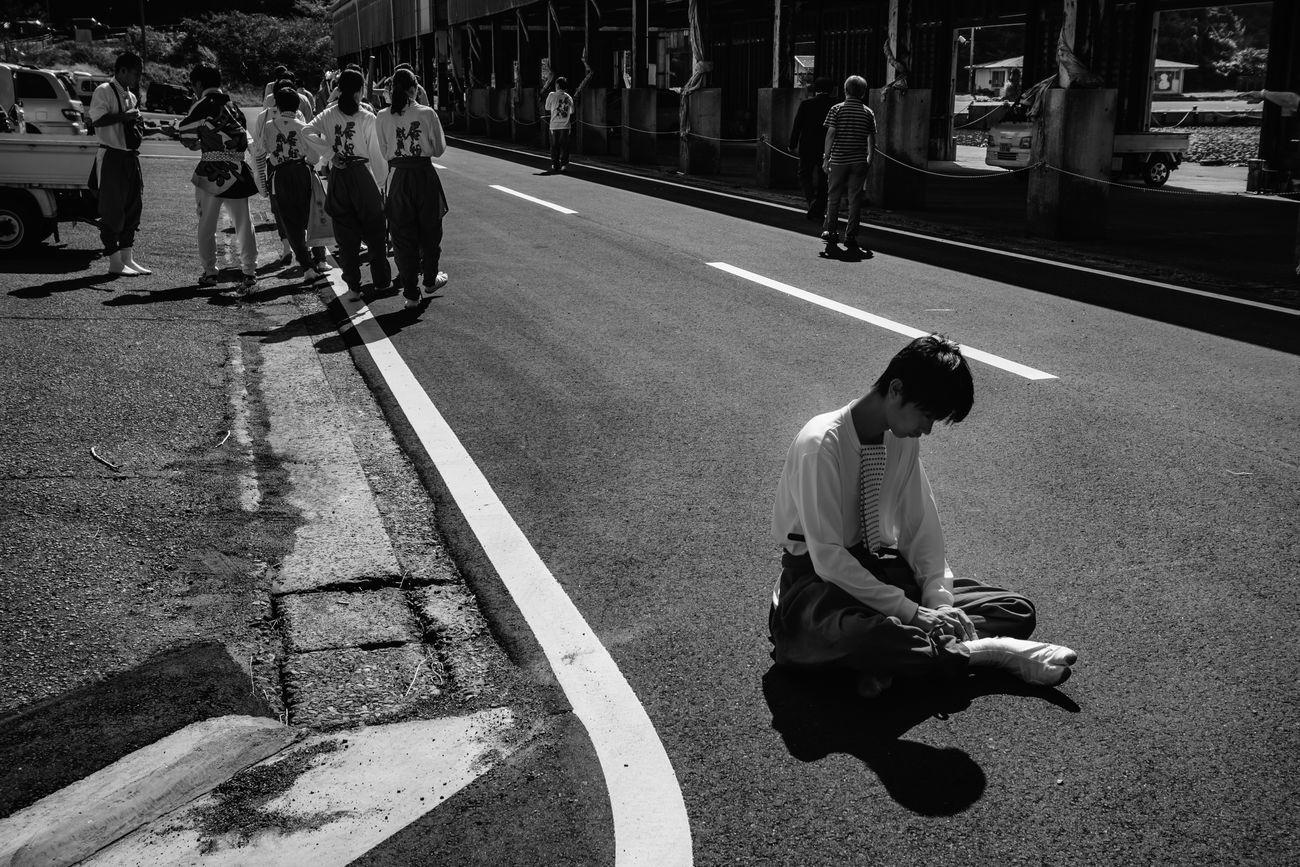 real people, city, street, men, group of people