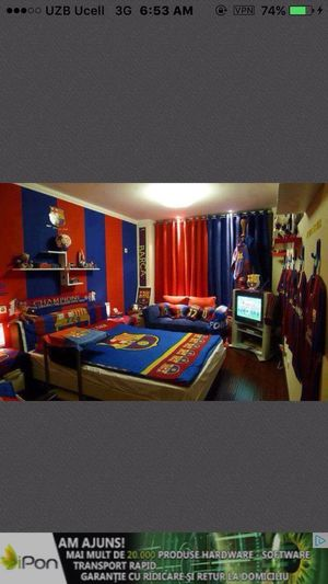 That room is for Barcelona fans