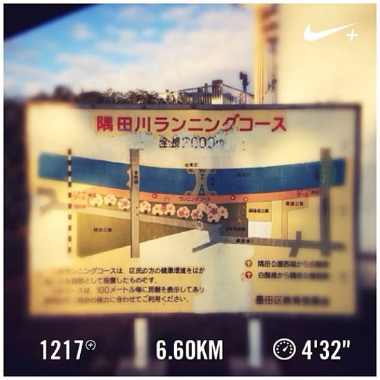 Running Tokyo Nike Run Japan Skytree 東京 スカイツリー 日本 GYAKUSOU 浅草寺 Nikeplus Sensouji 隅田川 ランニング Sumida ナイキ 隅田川テラス Sumidariver ラン 親水テラス 大寒 枕橋