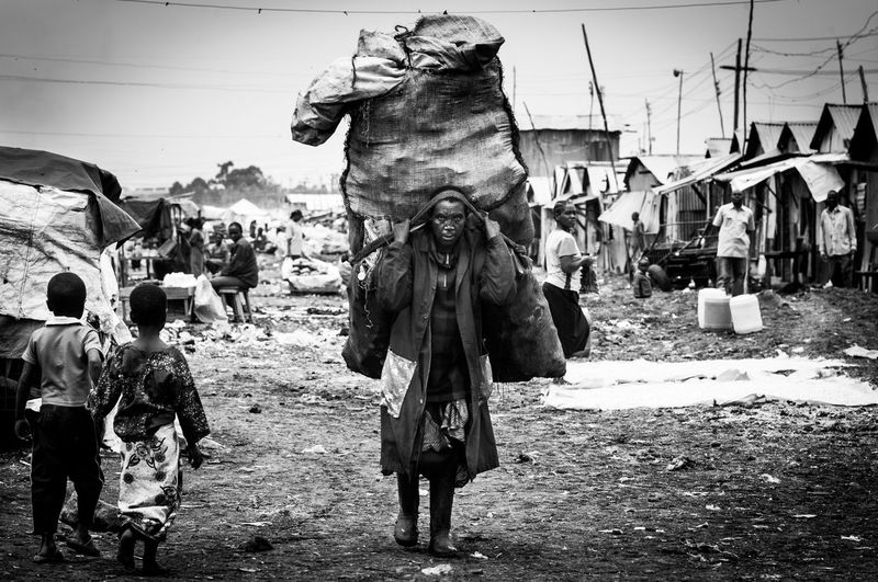 Heavy Hopeless Kenya Nairobi Photojournalism Rubbish Africa Africa Day To Day Blackandwhite Focus On Africa Hardship Hardwork Monochrome Old Woman Outdoors Poor Living Condition Poorness Slum Slum Area Third World Third World Country Waste Collection The Week On EyeEm