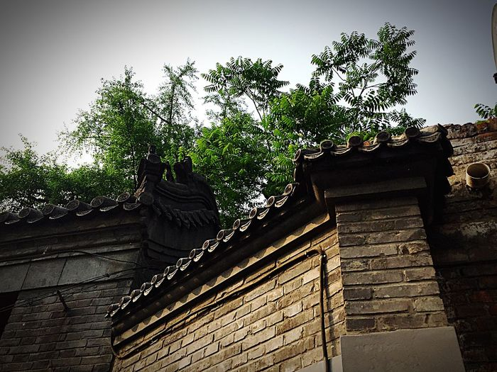 Chinese Architecture Eaves Historical Building Summer Light It always able to feels the breeze when there is a Chinese tradional building....fantastic...