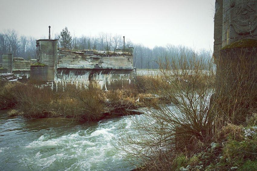 Broken bridge [WW2] Landscape_photography EyeEm Best Shots - Landscape Landscape_Collection Nature_collection Open Edit Exploring Nature Wanderlust