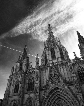 Barrio Gótico Catedral De Barcelona Architectural Detail Barcelona España🇪🇸 SPAIN