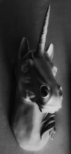 HorseHeadSculpture Unicorn No People Indoors  Close-up One Animal Animal Themes Mammal Day Art Is Everywhere