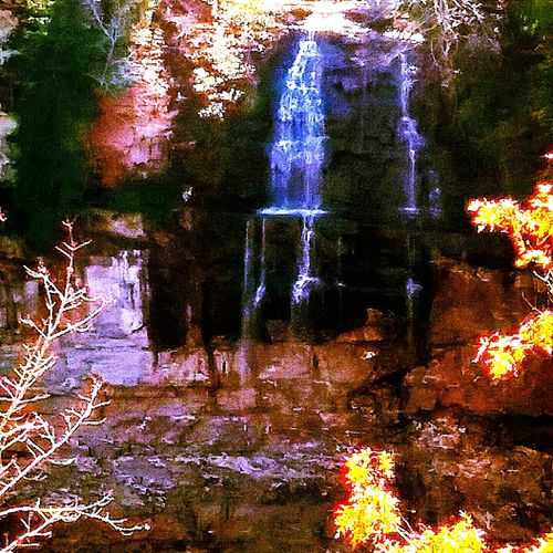 No People Nature Outdoors Beauty In Nature Waterfall Tennessee The Great Outdoors - 2017 EyeEm Awards