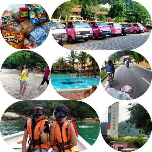 2nd round !! but when.. Throwback Pangkor Island Family fun fishing diving pinky vansss