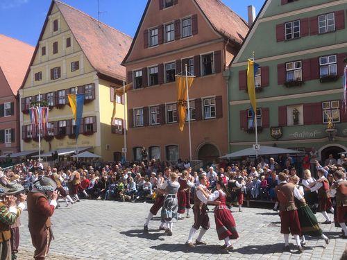 Dinkelsbuhl Kinderzeche Altstadt