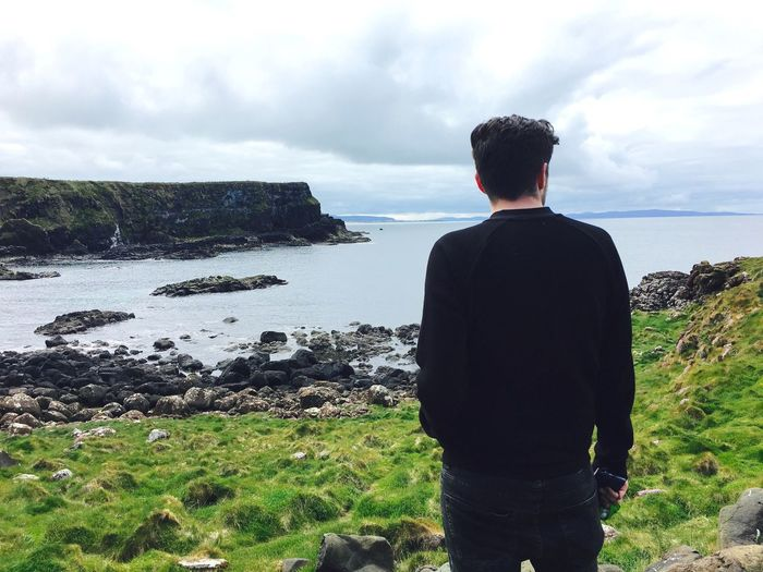 The Great Outdoors - 2016 EyeEm Awards Ireland Person Man Ocean Thinking About Life Nature