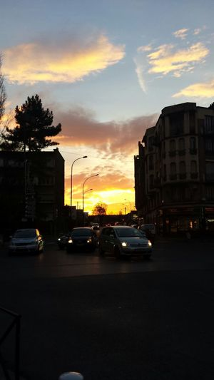 Urban Geometry Sunrise No Filter Sunnyday