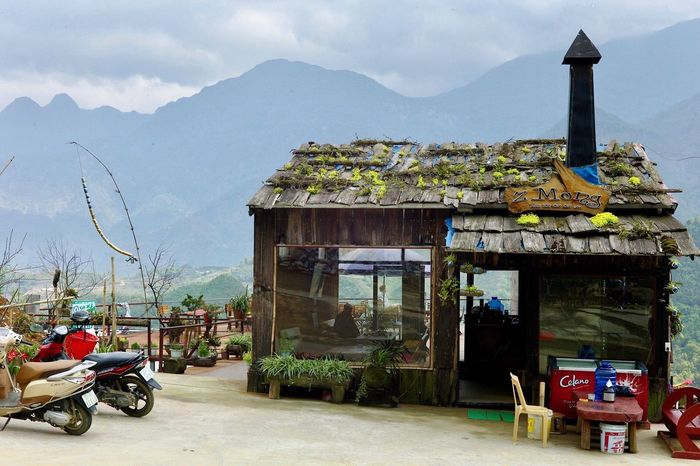 Sky Mountain Architecture Built Structure Building Exterior Travel Destinations Mountain Range Outdoors Transportation Land Vehicle Mode Of Transport Cloud - Sky Day Tree Sapa, Vietnam Nature Vietnam Cozy Place Mountains Mointain View Adventure Exploring Travel Bar Rest
