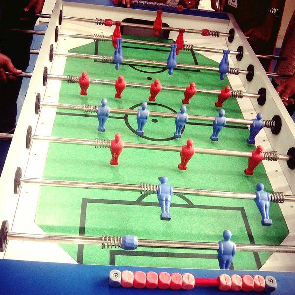 Foosball Game Fun Fun At Work We Won  Enjoying Life