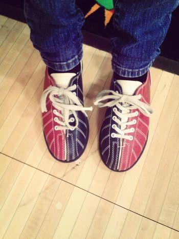 Went bowling! Bowlingshoes Socute