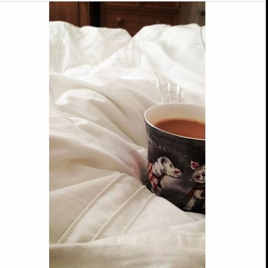 Strong tea+bed=perfection? Relaxing Enjoying Life Laying In Bed Happy