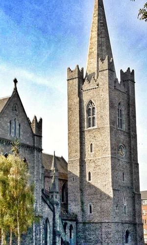 Dublin cathedral IPhoneography