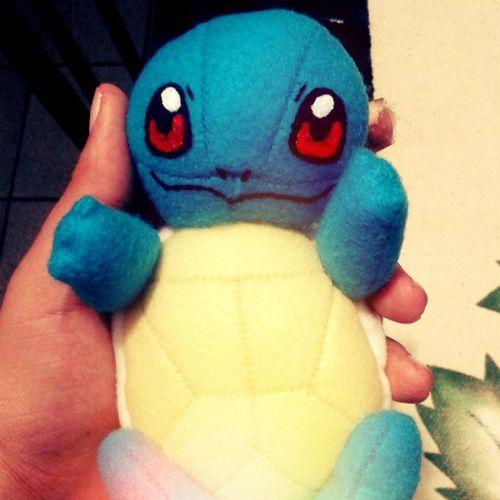 meu mais novo mascote... <3 Squirtle Pokémon Cecilialima