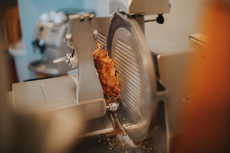 Food in machinery