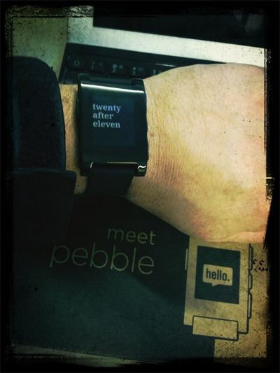 Got My Pebble
