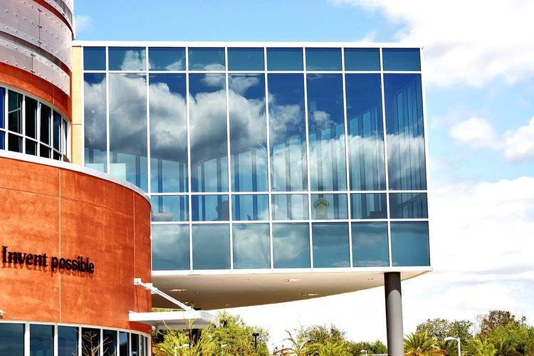 Gatorade... Children's Museum Dr. Cade Gatorade Inventor UF University Of Florida Depot Park Downtown Kids Museum EyeEm Selects Sky Architecture Cloud - Sky Exterior Building Exterior Urban Scene Historic
