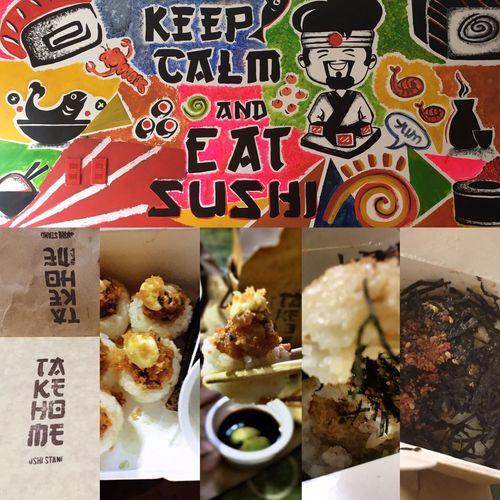 Takehomesushistand Spicytunamaki Tunariceball Food Philippines