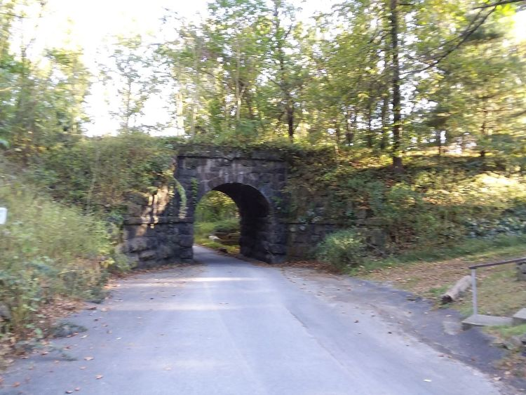 Single Lane Road Arch No People Architecture Outdoors Road