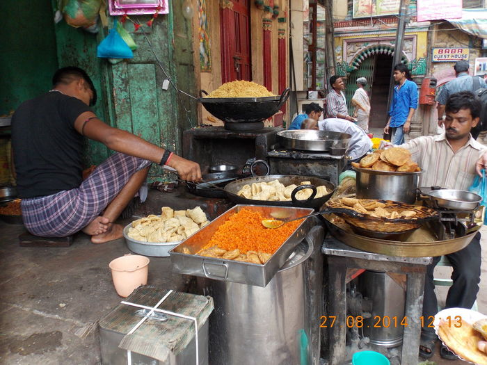 Street Food Connected By Travel