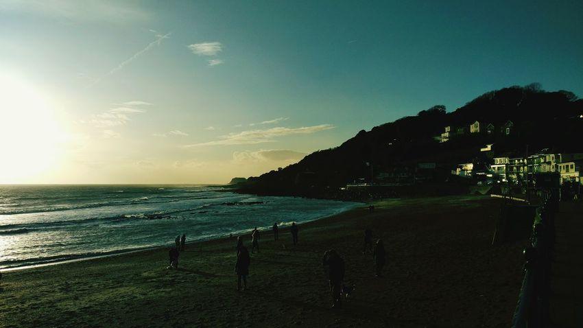Beachphotography On The Beach Beach Sunset Cliffs Isleofwight