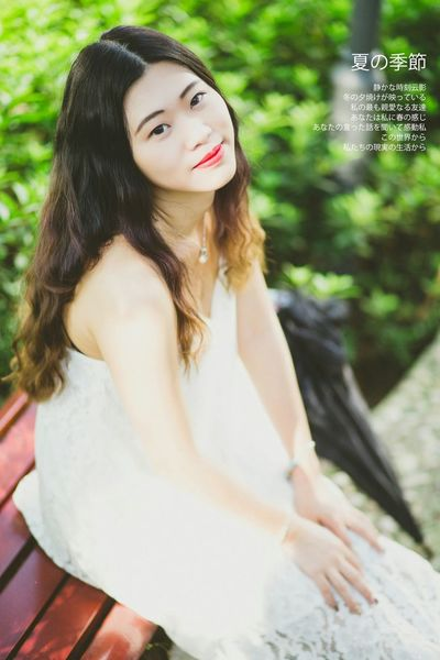 Hi! Enjoying Life Relaxing Girl 人像 Girlfriends Summer Nature Girl Chinagirls Enjoying The Sun Girlsday Red Lips 小清新