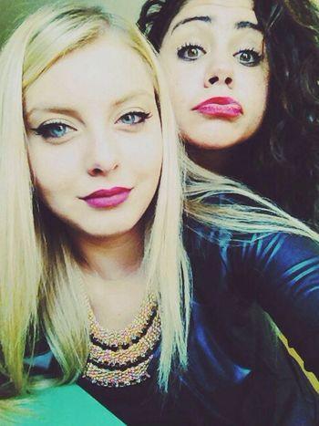 Blonde Hair Blue Eyes. Blondeandbrunette Bloodsisters That's Amore