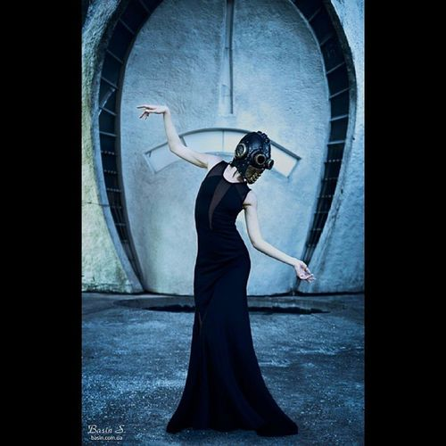 """Формалин"" фотосессия_Киев фотограф_киев Фотосессия модель маска Киев"