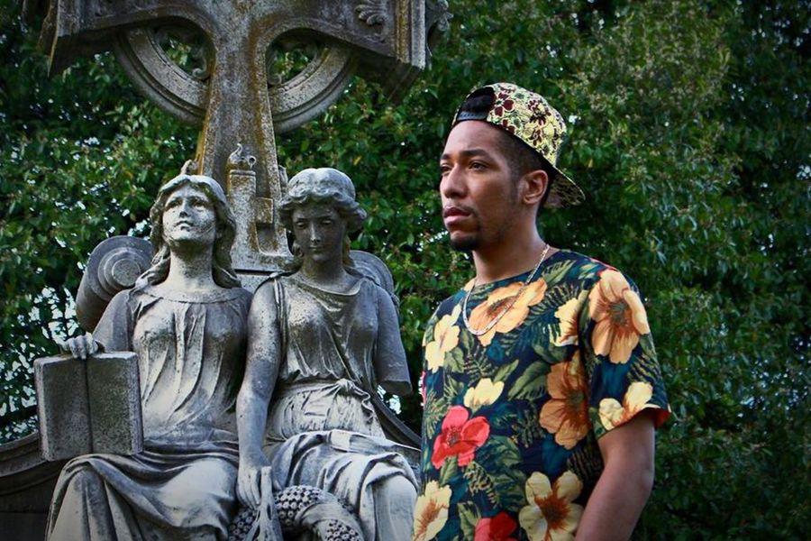 Untold Stories Model Oakland Cemetery, Atlanta Georgia Male Model Fashion RePicture Masculinity