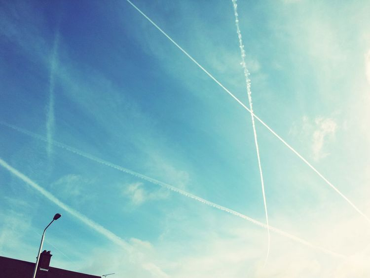 Chemtrails Everwhere :(