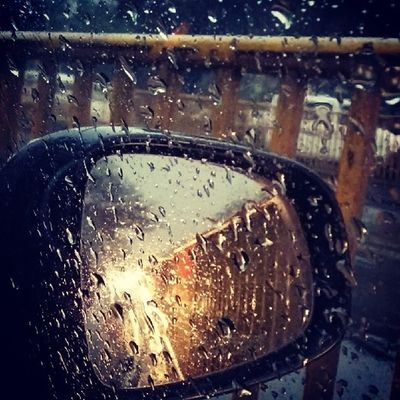 End of Winters Rains.. Rains Monsoon Newdelhi Roads Traffic India Instagood Instanice