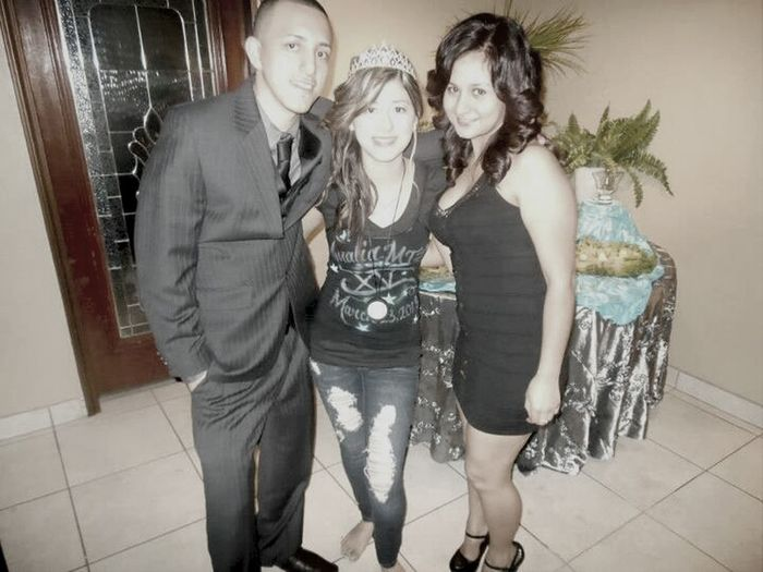 Celebrating My Sisters Quince (: