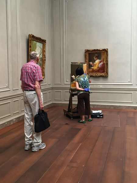 IPhoneography Street Photography Streetphotography Museum National Gallery Of Art Art Artist Painting