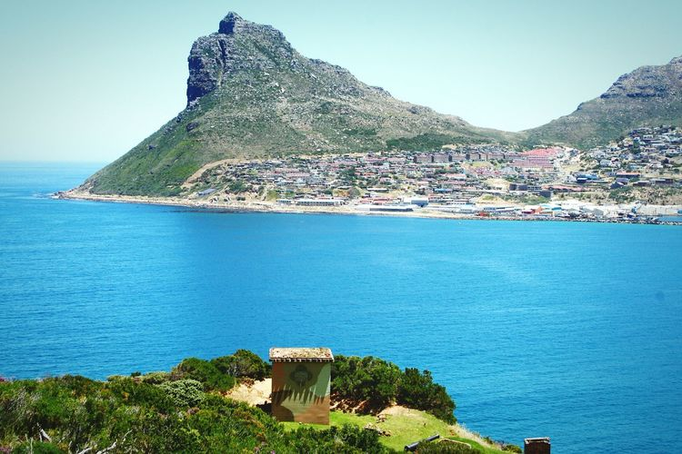 The Sentinel - Hout Bay ~ Moutain View Mountain Range Ocean View South Africa Cape Province Hout Bay Bay Peak Cliff Offshore Hikingadventures Seascape Mountain Sea Outdoors Water Scenics House Beach Horizon Over Water Beauty In Nature Tranquility