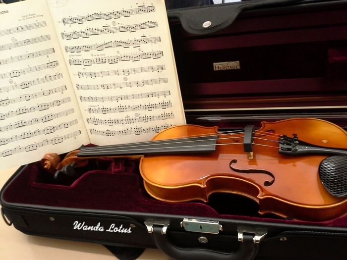 We've warmed up and are ready to learn more! Violin Jazzmobile